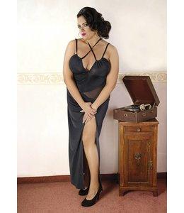 Andalea LONG BLACK DRESS