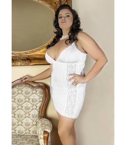 Andalea LIGHT, ECRU CHEMISE WITH BEAUTIFUL BRA CUPS