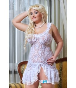 Andalea ANGELIC SET: A CHEMISE, A GARTER AND A THONG