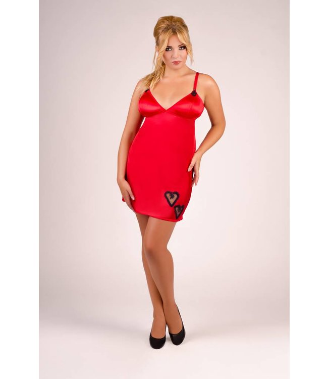 Andalea Red valentine chemise