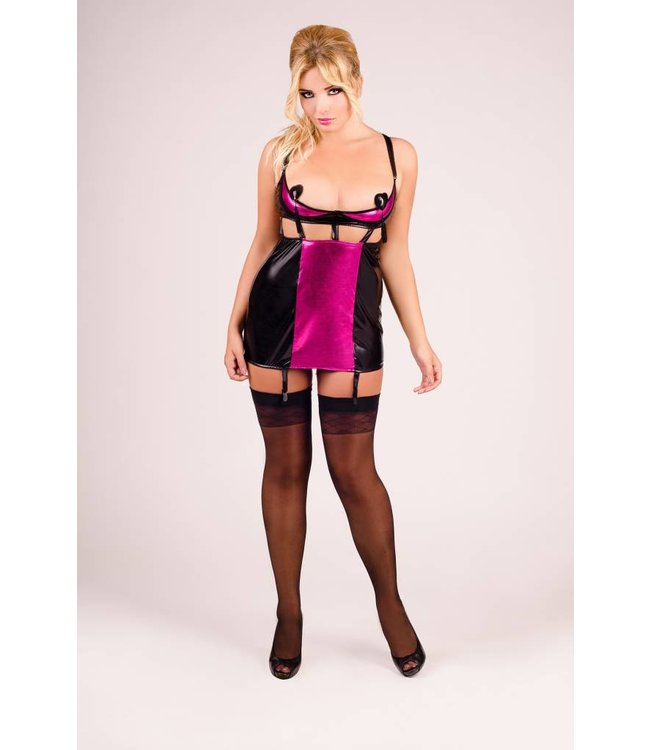 Andalea Sexy chemise with half cup top
