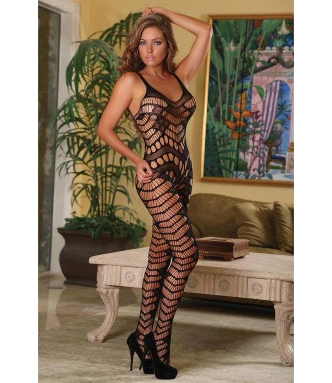 Magic Silk CROTCHLESS CATSUIT