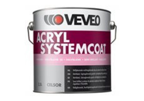 Veveo Celsor Acryl Systemcoat Halfglans
