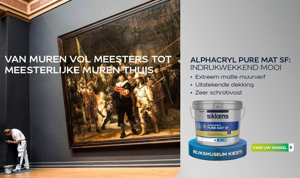Muurverf Badkamer Sikkens : Sikkens alphacryl pure mat sf kopen verfonlinexl
