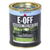 E-off Hardhoutolie - 0,75 liter Dark Graphite