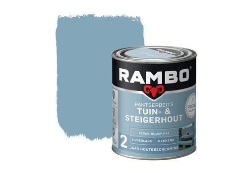Rambo Pantserbeits Tuin- & Steigerhout - Petrol Blauw 1142