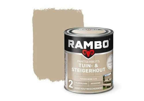 Rambo Pantserbeits Tuin- & Steigerhout - Poeder Beige 1146