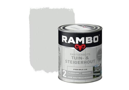 Rambo Pantserbeits Tuin- & Steigerhout - Steen Grijs 1139