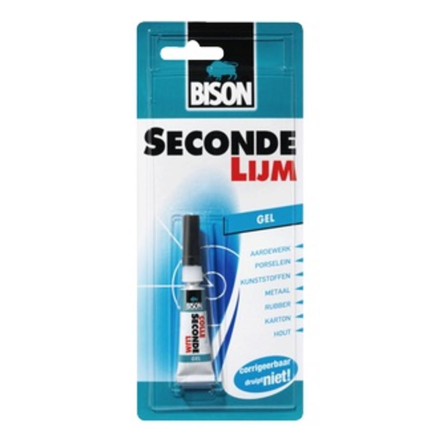 Bison secondelijm gel 3gr-2