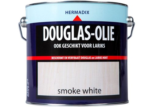 Hermadix Douglas Olie - Smokey White 2,5 liter