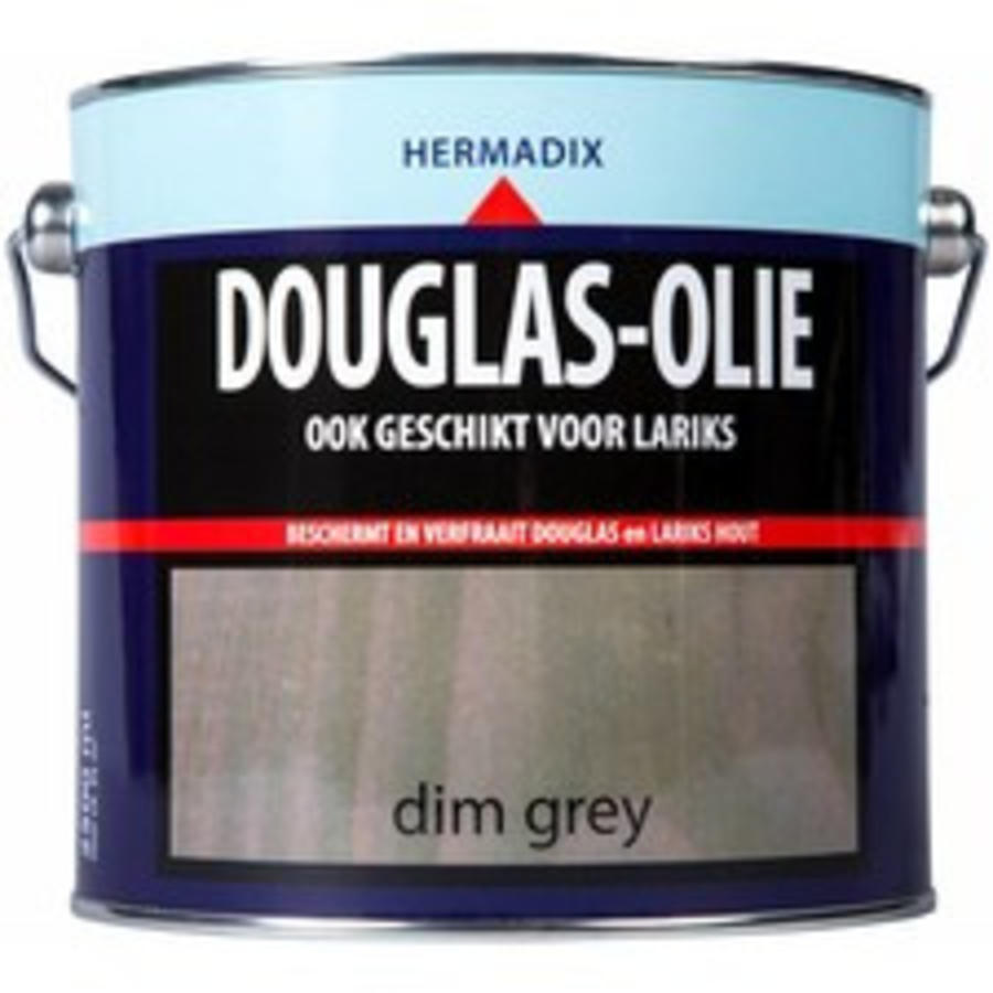 Douglas Olie - Dim Grey 2,5 liter-1