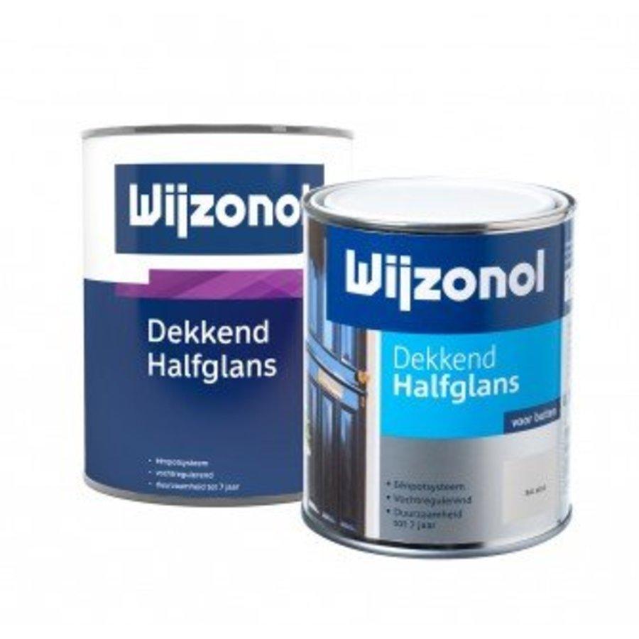 Dekkend Halfglans 750 ml 9305 Lauriergroen-1