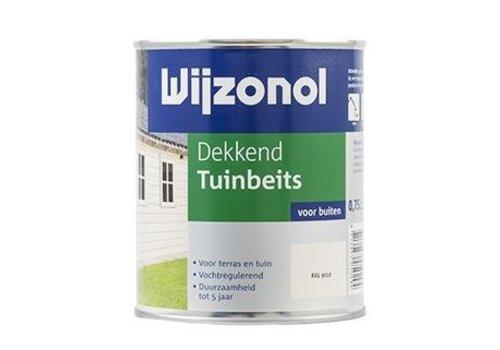 Wijzonol Dekkend Tuinbeits 750 ml 9104 Wit