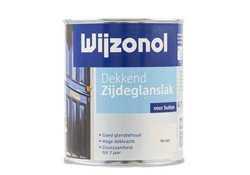 Wijzonol Dekkend Zijdeglanslak 750 ml 9400 Klassiekbruin