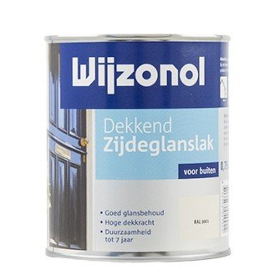 Dekkend Zijdeglanslak 750 ml RAL 9001-1