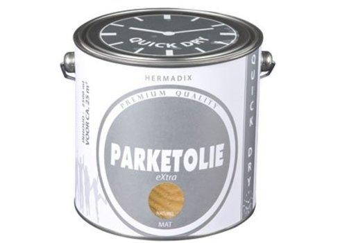 Hermadix Parketolie eXtra 2,5 liter Donker Eiken