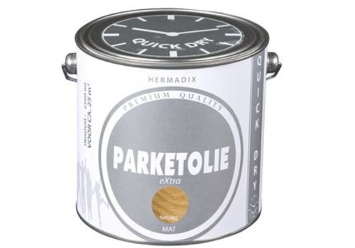 Hermadix Parketolie eXtra 2,5 liter Grey Wash