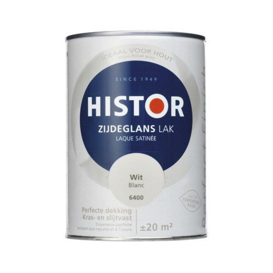 Histor Perfect Finish Lak Zijdeglans 1,25ltr Wit-1