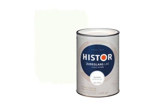 Histor Histor Perfect Finish Lak Zijdeglans 1,25ltr Zonlicht (RAL 9010)