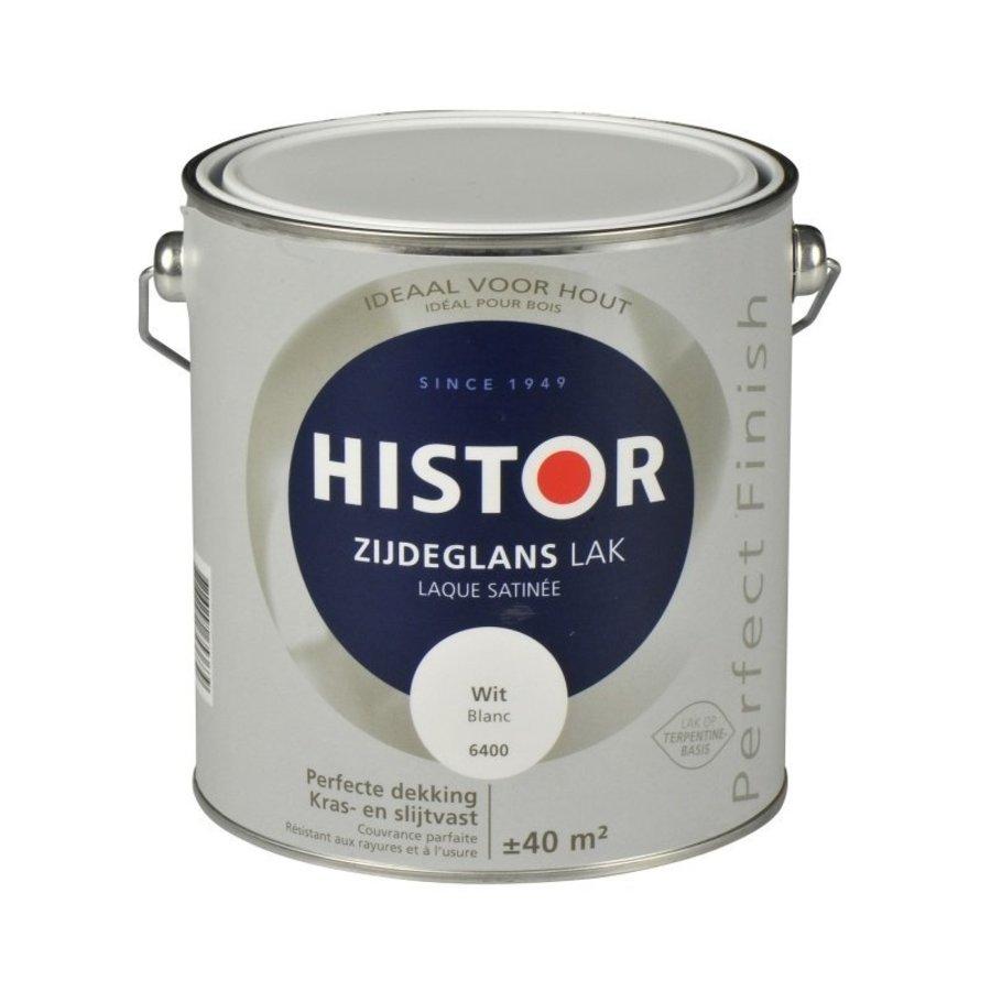 Histor Perfect Finish Lak Zijdeglans 2,5l Wit-1