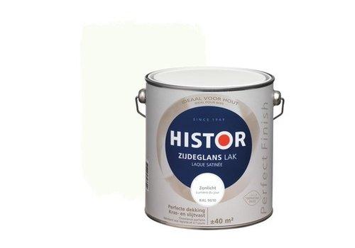 Histor Histor Perfect Finish Lak Zijdeglans 2,5l Zonlicht (RAL 9010)