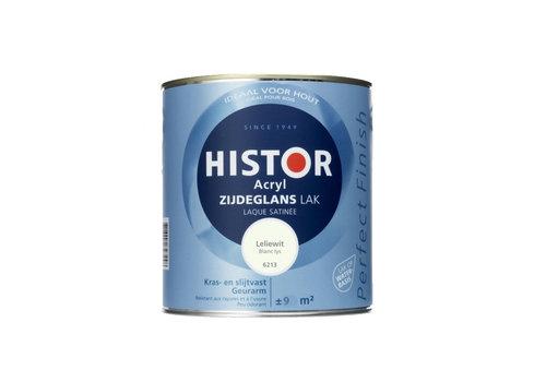 Histor Histor Acryl Zijdeglans Lak 750 ml Leliewit