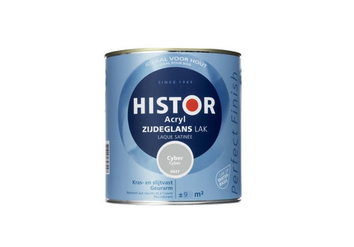 Histor Histor Acryl Zijdeglans Lak 750 ml Cyber