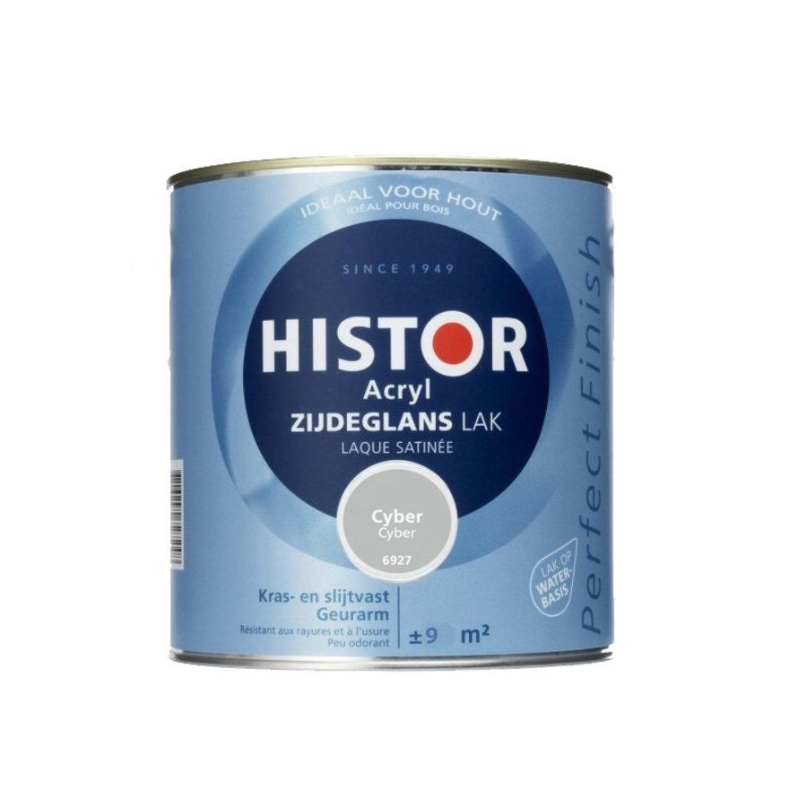 Histor Acryl Zijdeglans Lak 750 ml Cyber-1