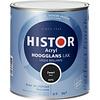 Histor Histor Acryl Hoogglans Lak 750 ml Zwart