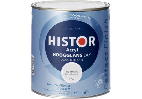 Histor Histor Acryl Hoogglans Lak 750 ml Hoornwit