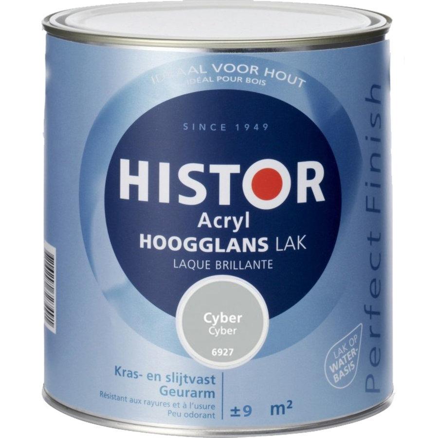 Histor Acryl Hoogglans Lak 750 ml Cyber-1