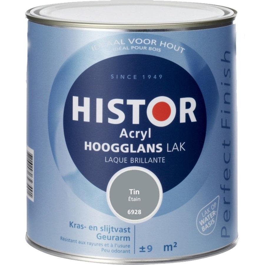 Histor Acryl Hoogglans Lak 750 ml Tin-1