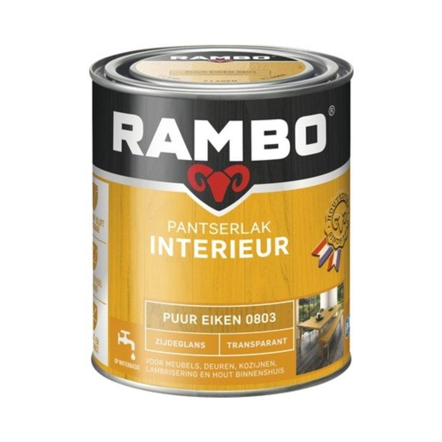 Rambo Pantserlak Interieur Transparant Zijdeglans - 750 ml Puur eiken-1