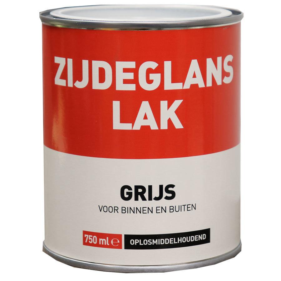 Zijdeglans Lak - 750 ml Grijs-1