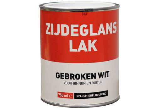 Zijdeglans Lak - 750 ml Gebroken Wit