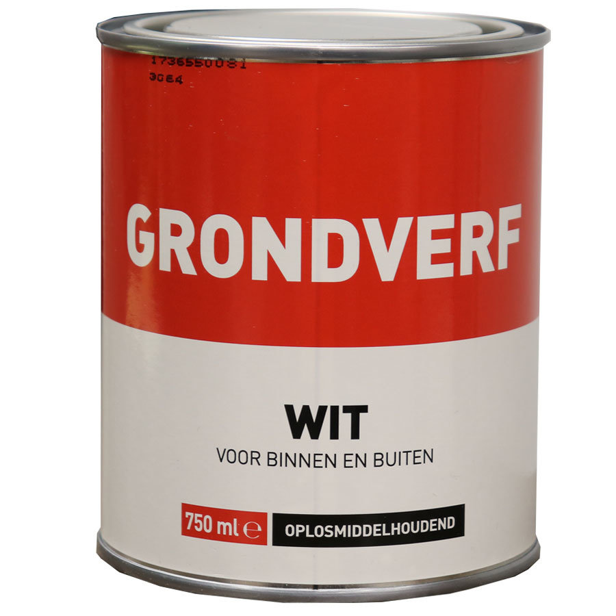 Grondverf - 750 ml Wit-1