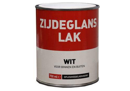Zijdeglans Lak - 750 ml Wit