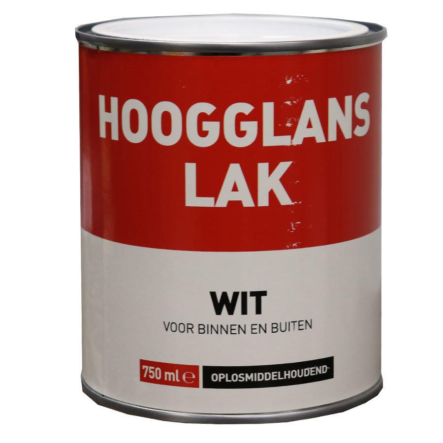 Hoogglans Lak - 750 ml Wit-1