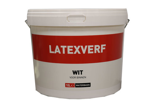 Latexverf - 10 liter Wit