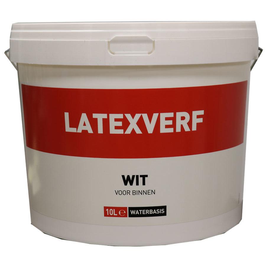 Latexverf - 10 liter Wit-1