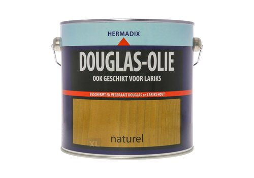 Hermadix Douglas Olie - Naturel 2,5 liter