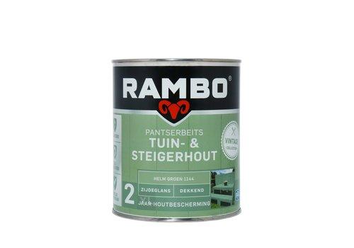 Rambo Pantserbeits Tuin- & Steigerhout - Helm Groen 1144