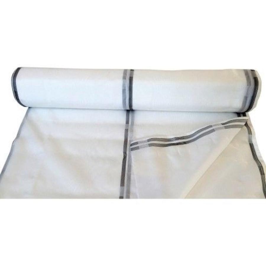 Filet d'échafaudage 2,57m x 50m PE 130 gr/m2 - Blanc