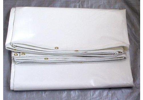 Bâche 2x3 PVC 650 ignifugée - Blanc