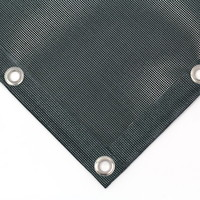 Filet PVC en treillis 600 gr/m² ignifuge M1 sur mesure