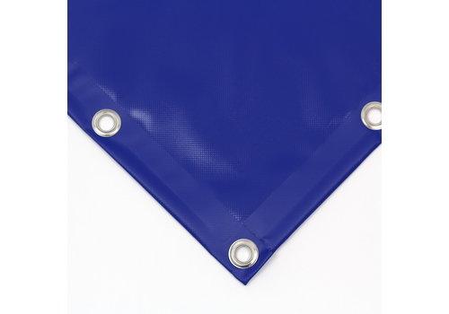 Bâche PVC 600 ignifugée sur mesure - Bleu