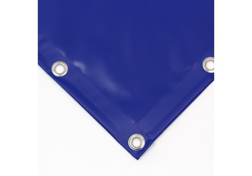 Dekzeil PVC 600 NVO op maat - Blauw