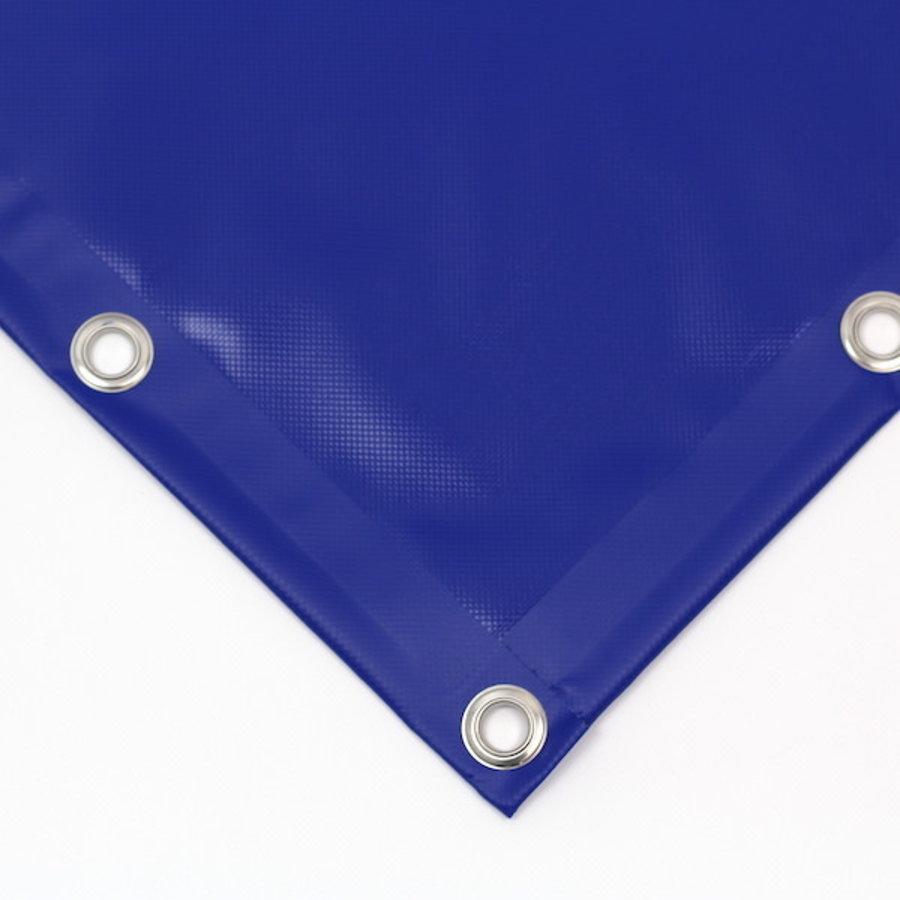 Bâche PVC 600 ignifugée norme M2 sur mesure - Bleu