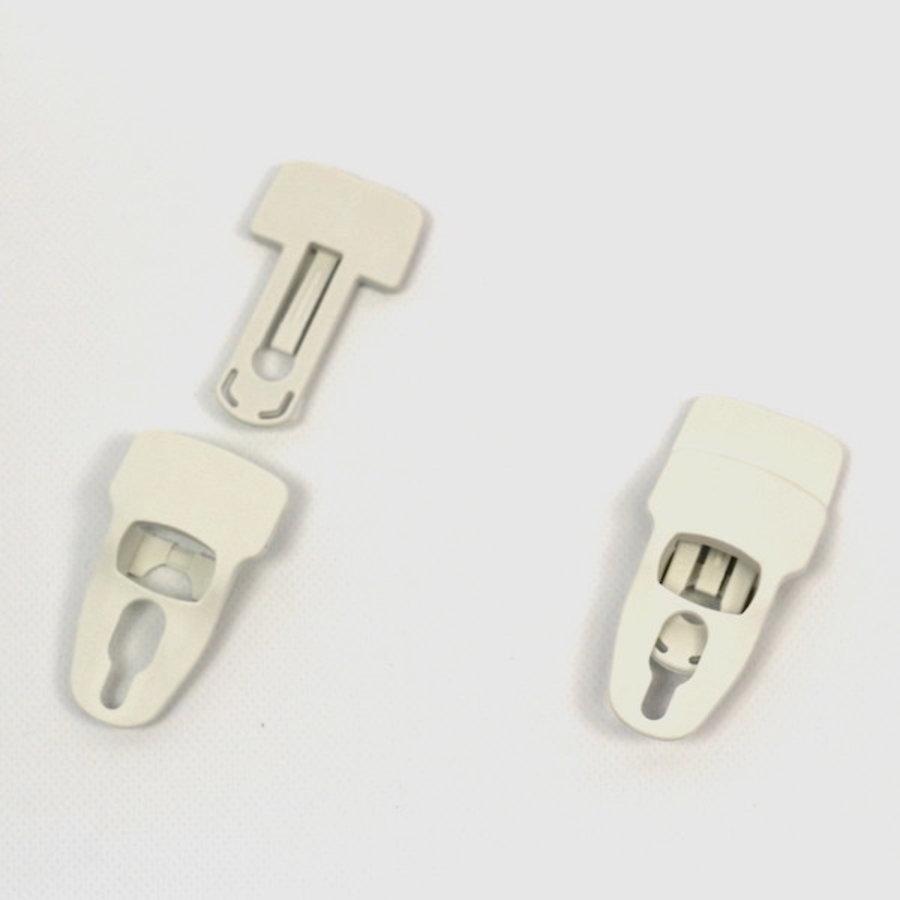 Pinces pour bâche - XL Blanc