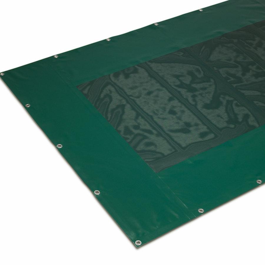 Combinatiezeil PVC gaas 340  met rand PVC 620